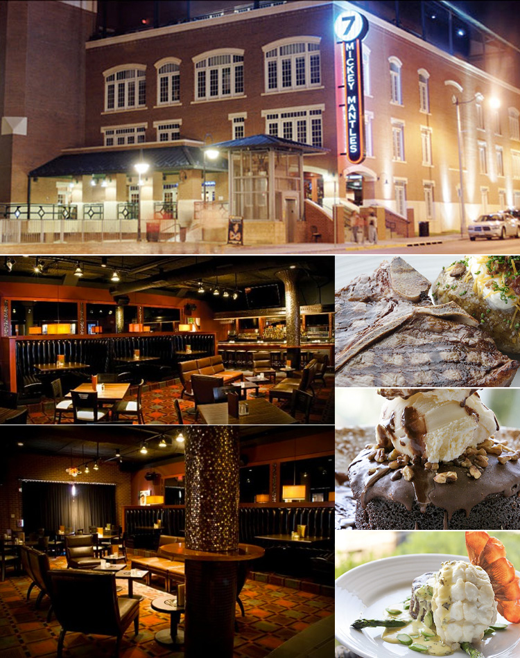 luxe location mickey mantle39s steakhouse