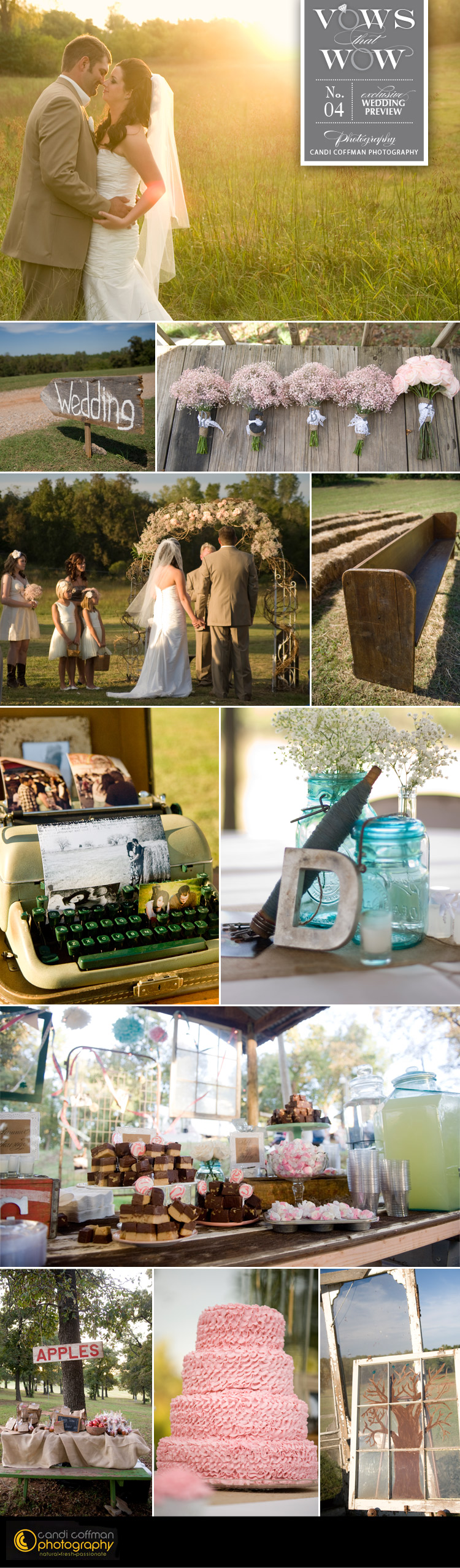 vows that wow – no 4 – candi coffman photography