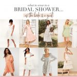 April Showers: What to Wear to your Upcoming Bridal Events