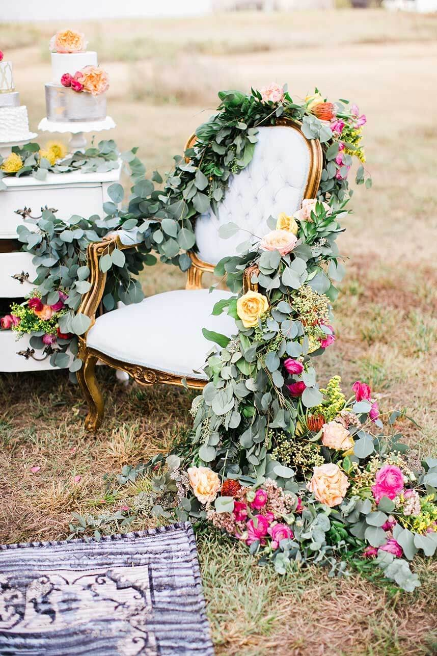 Floral Greenery Swags_Deisy Photography