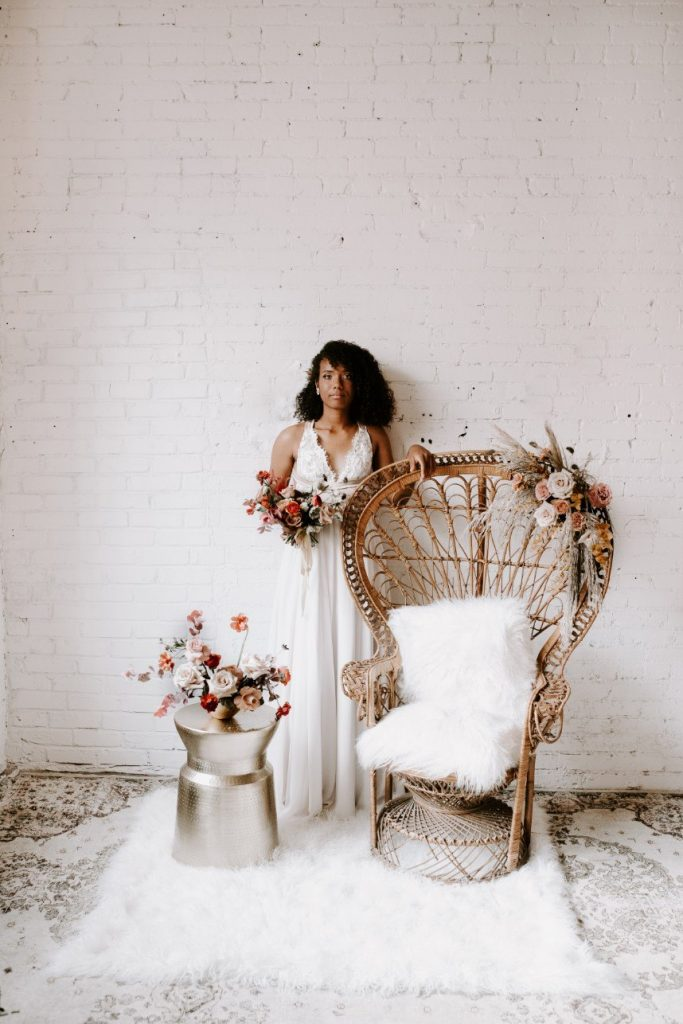 Contemporary Romance Styled by Ivory Rose Event Co.