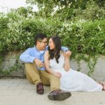classic golden hour engagement session from ashley sunderland photography