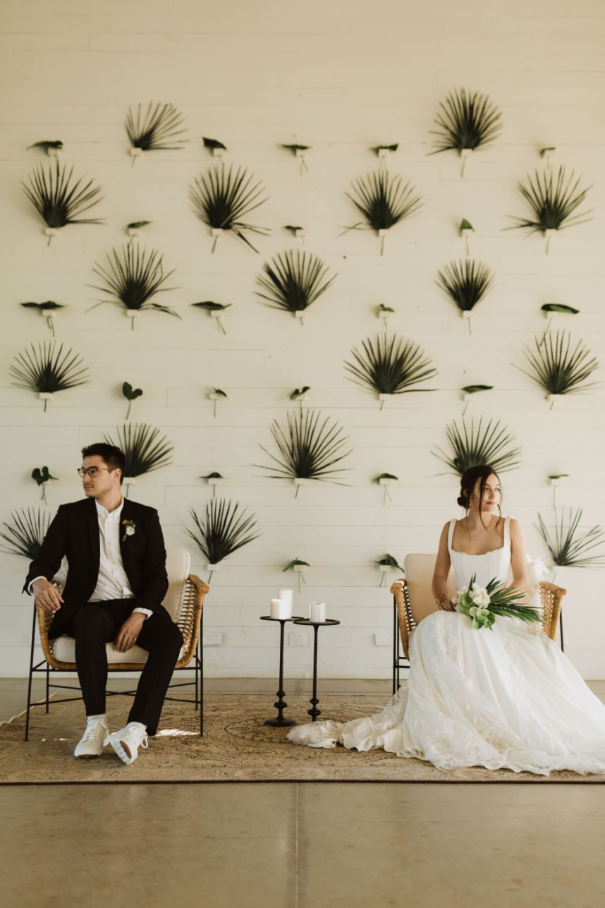 Scavenged Vintage Rentals Light as Gold Photography