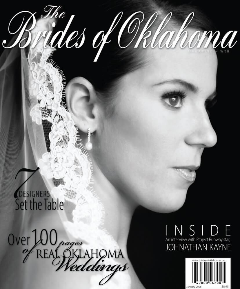 Fall Winter 2008 Issue of Brides of Oklahoma Magazine
