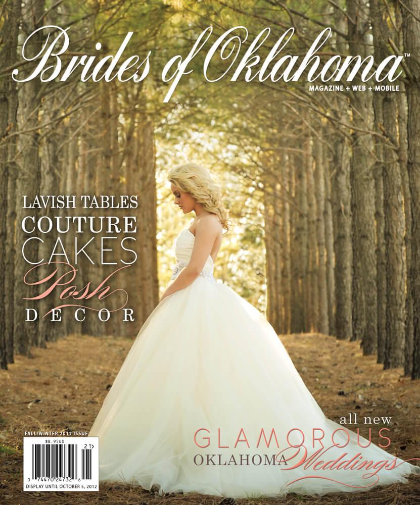 Fall Winter 2012 Issue of Brides of Oklahoma Magazine