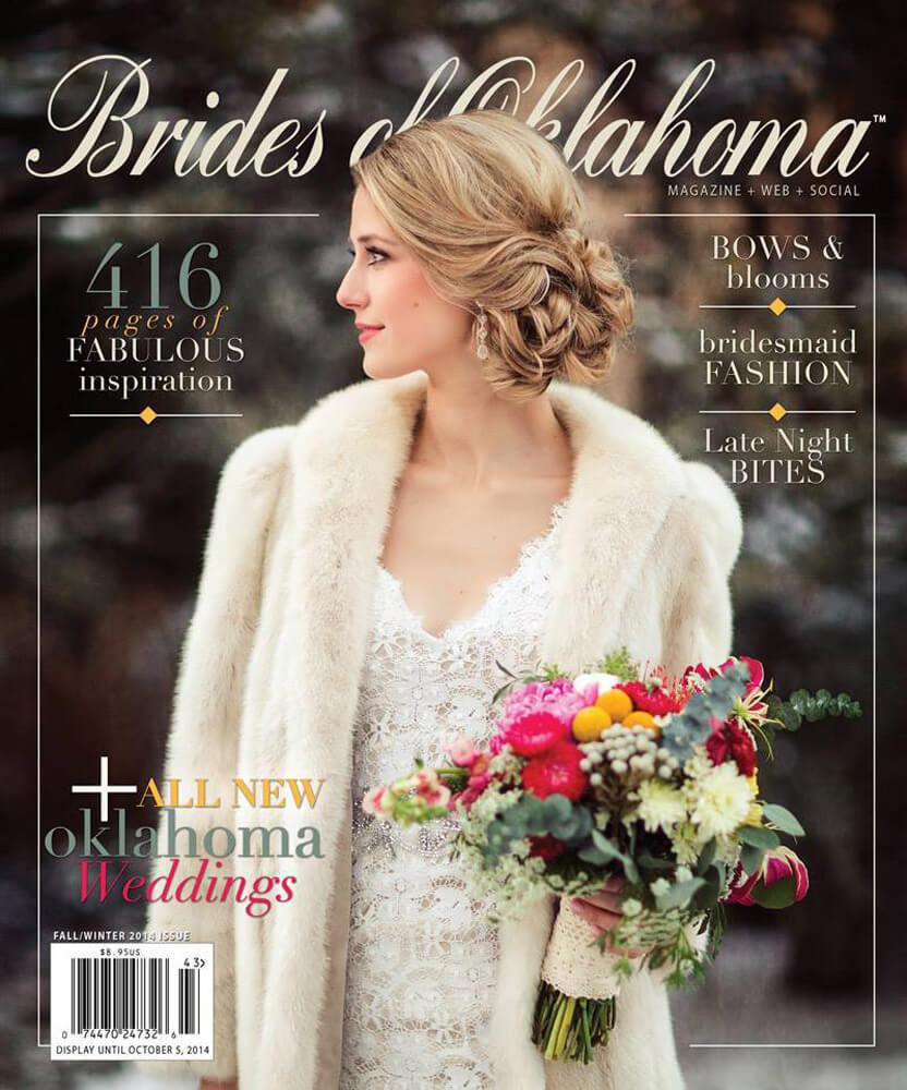 Fall Winter 2014 Issue of Brides of Oklahoma Magazine