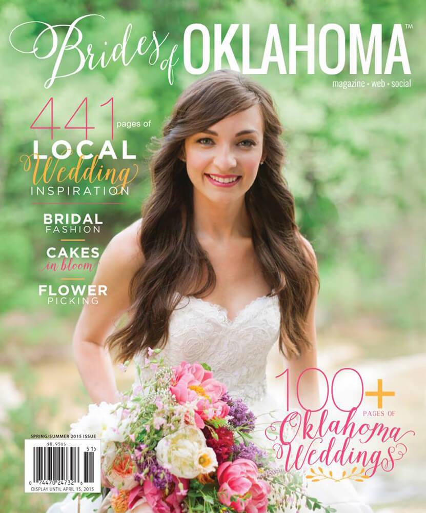 Spring Summer 2015 Issue of Brides of Oklahoma Magazine