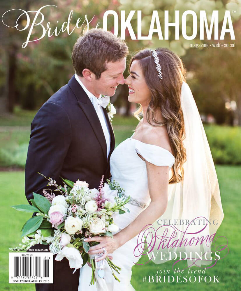 Spring Summer 2016 Issue of Brides of Oklahoma Magazine
