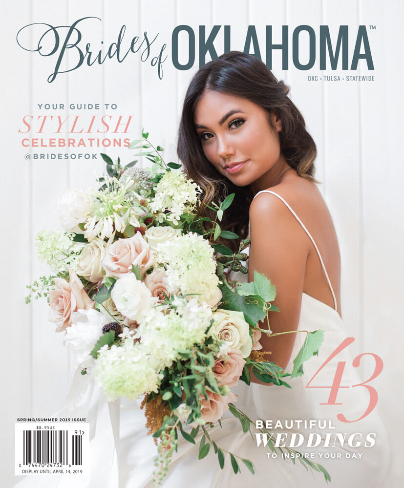 Spring Summer 2020 Issue of Brides of Oklahoma Magazine