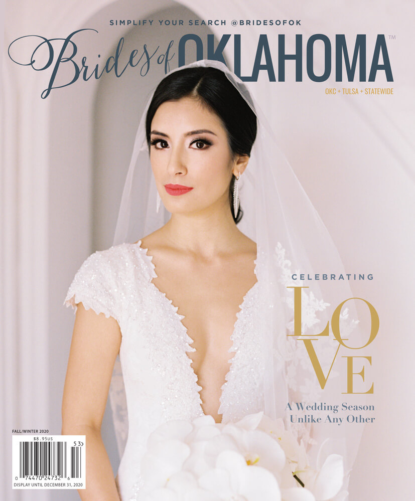 Fall Winter 2020 Issue of Brides of Oklahoma Magazine
