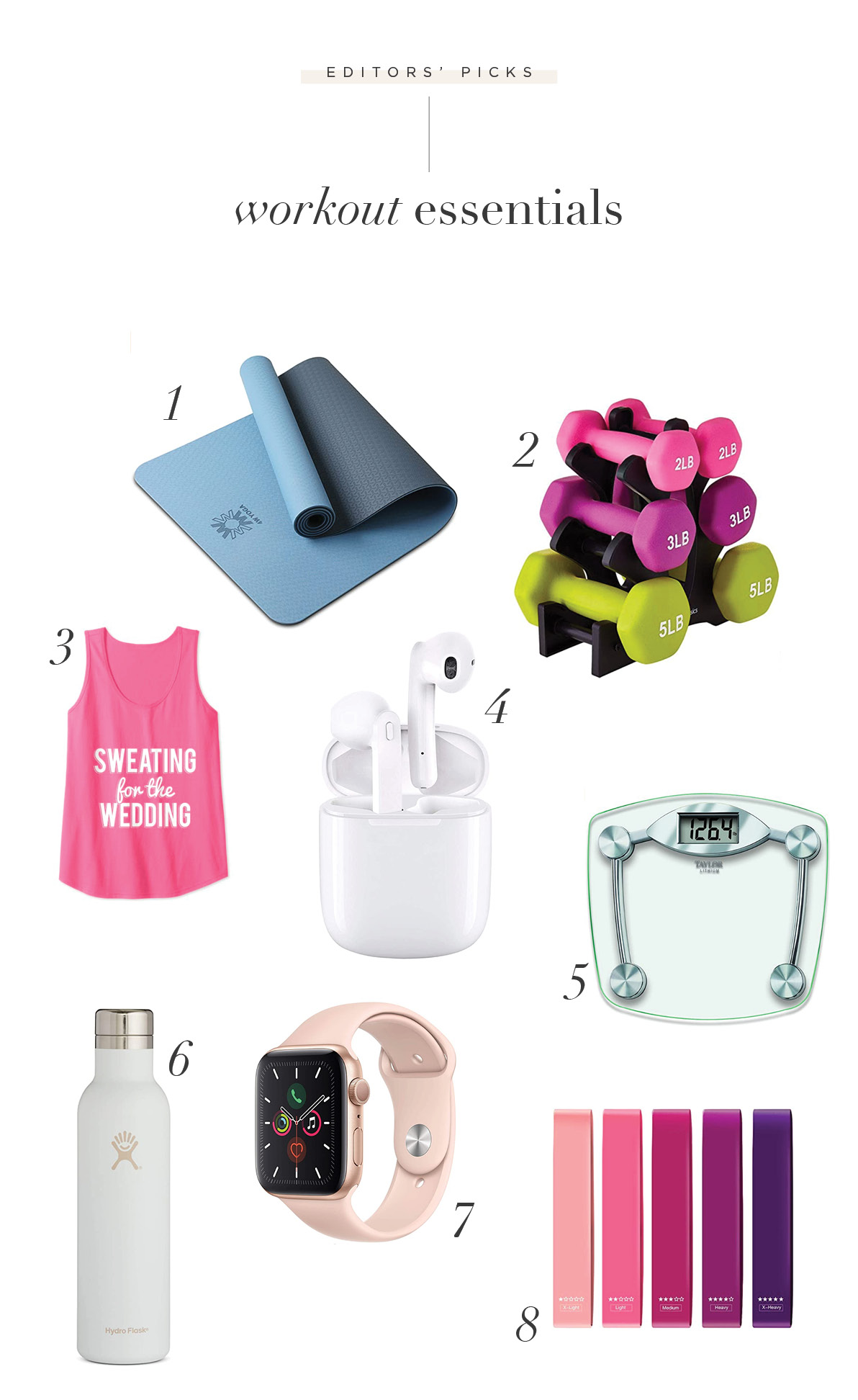 Shoppable WeddingWorkout Blog