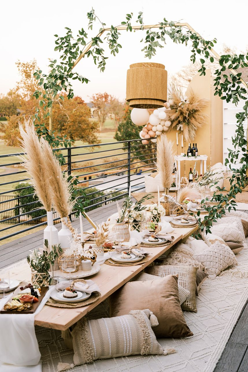 Boho Styled Dinner Oklahoma Wedding Photographer Danielle Villemarette Co. Oklahoma Wedding Catering Charcuterie OK Graze_101