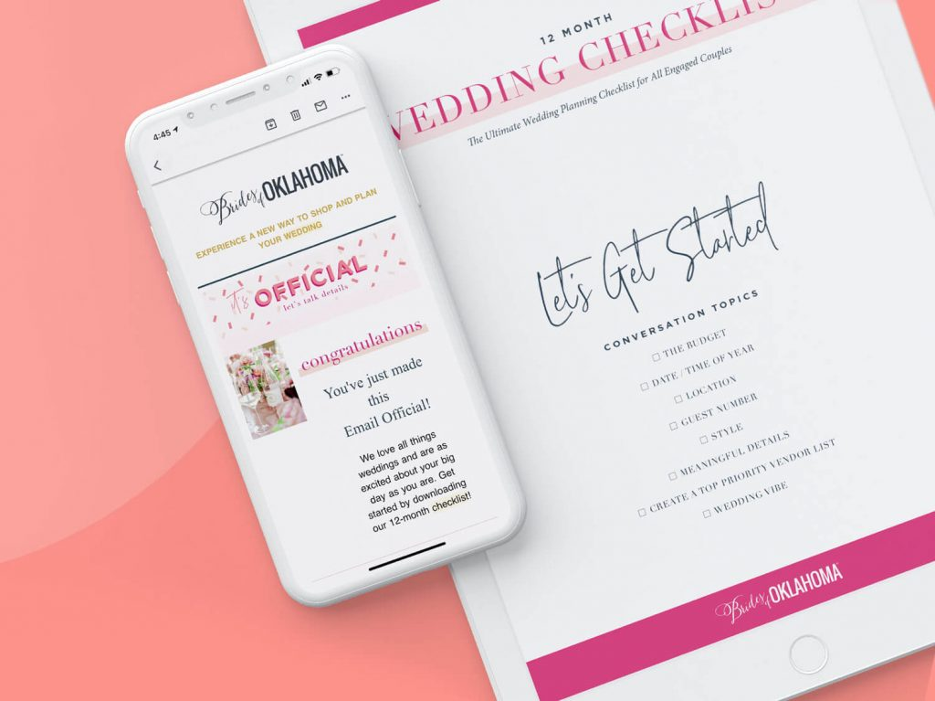 Brides of Oklahoma Insider Wedding Checklist