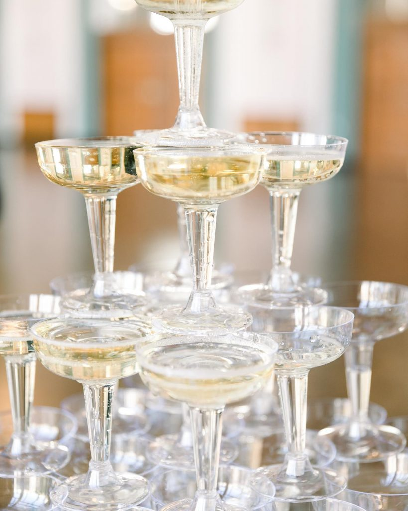 Champagne towers, anyone? With hilarytailored, your celebrations will always be poppin'! Don't believe us? Just scroll and see for yourself!
