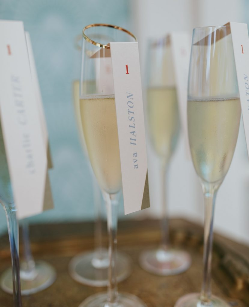 CHEERS! Happy New Year! We are ringing in 2021 with a sneak peek at four darling details that can be