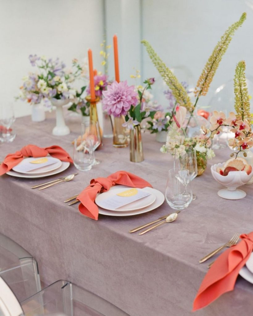 We know micro weddings are the new go-to, and we are over the moon at this artisanal deco inspiration from
