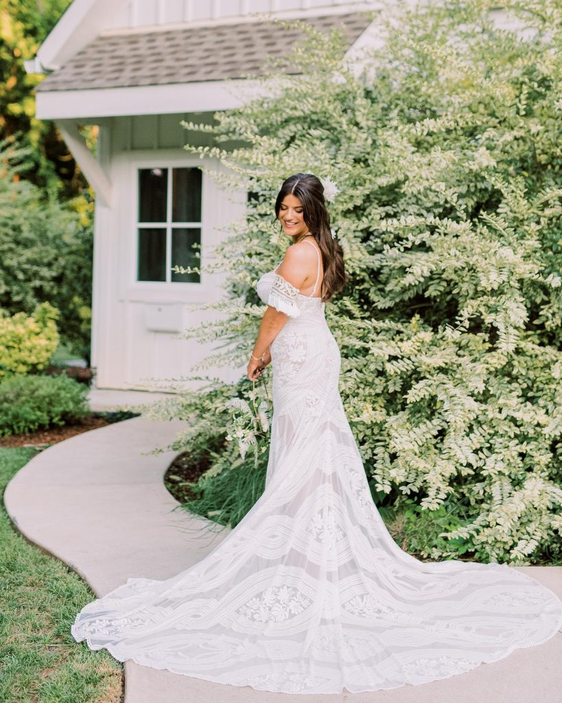 """""""When wedding planning, especially during a pandemic, I learned quickly to let go of expectations I had no control over"""