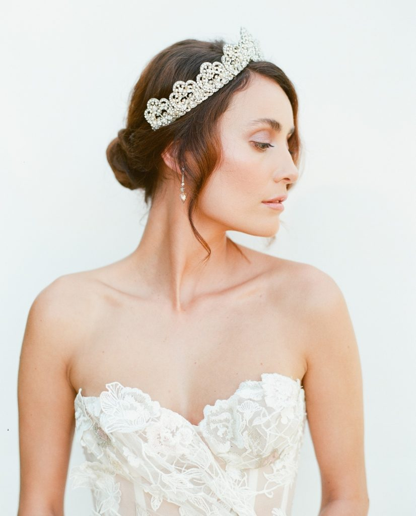 """From Ali with profilebeautynook: """"For the feteokc shoot, I was really inspired by the regal nature of the bridal crown."""