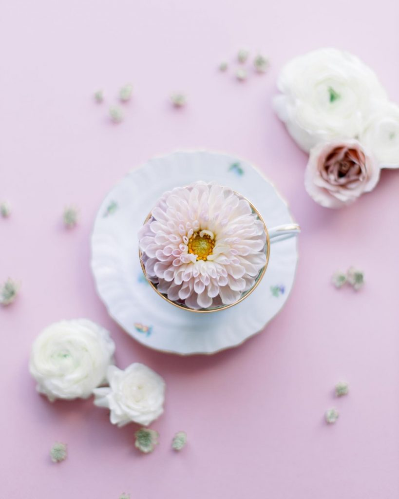 Darling details that make us feel like we are frolicking in an English garden, en route to pastel paradise! If