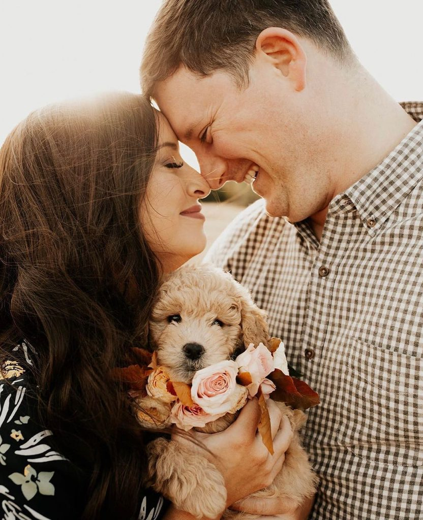 We simply couldn't pass up an opportunity to share a baby golden doodle on the feed! chandlerraephotography got to capture