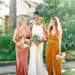 velvet bridesmaid dresses