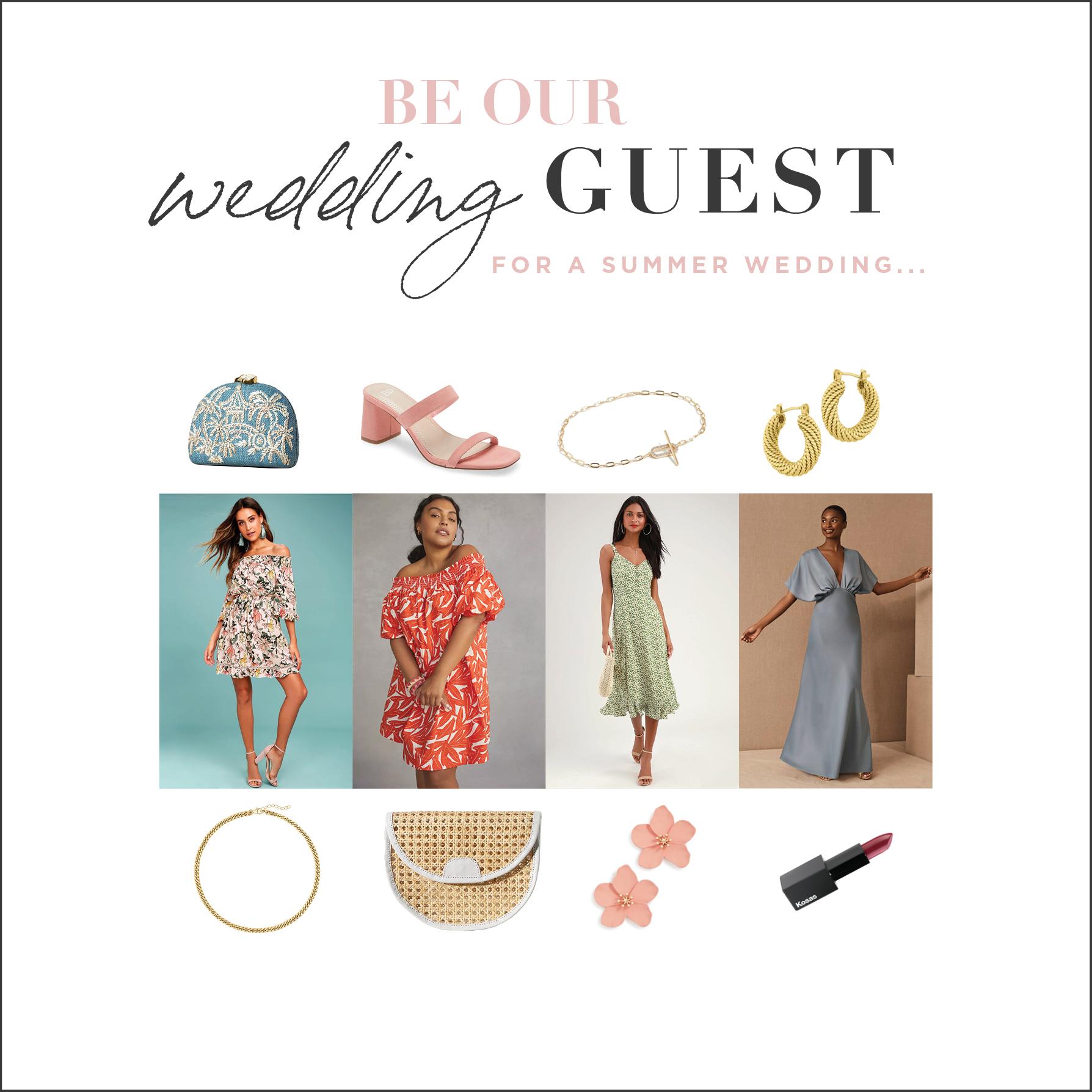 shoppable summer wedding attire blog
