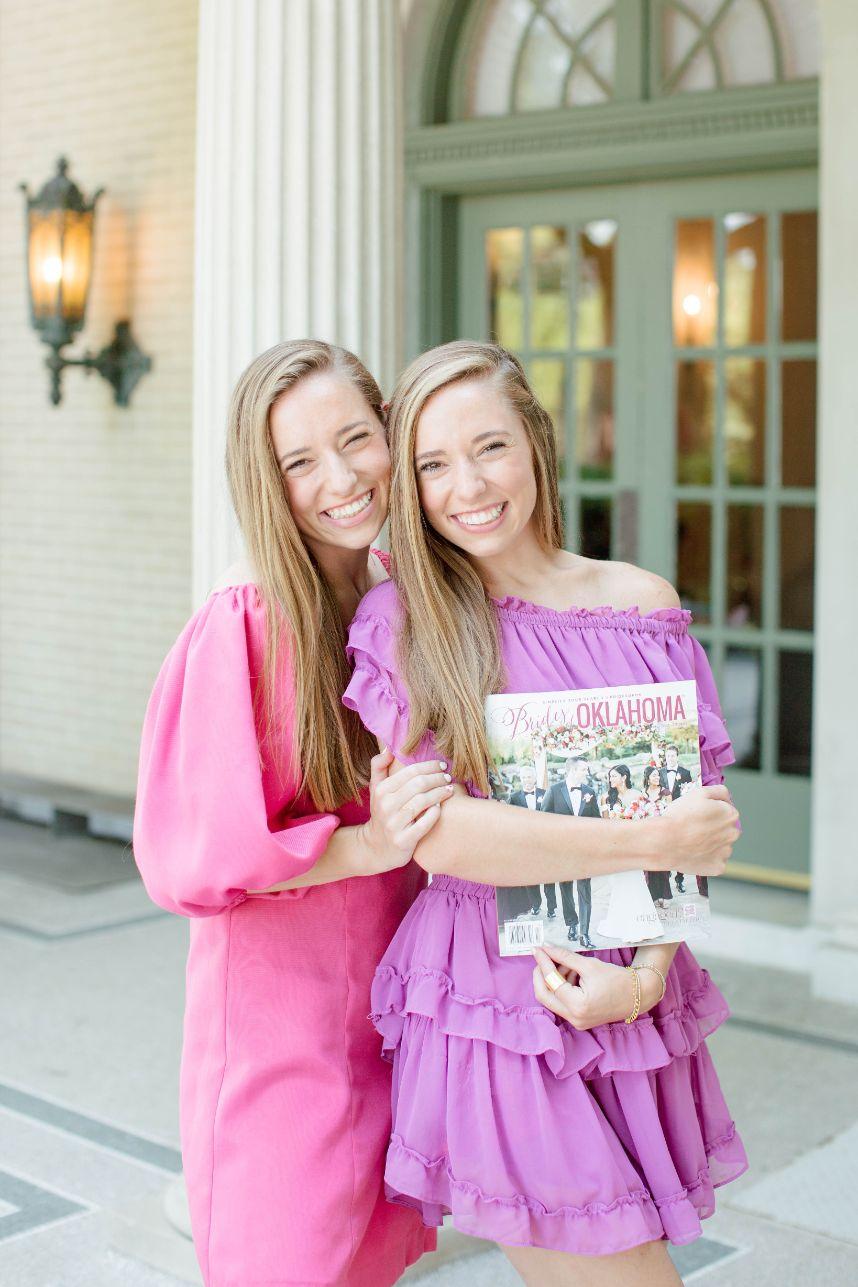 girls holding magazine