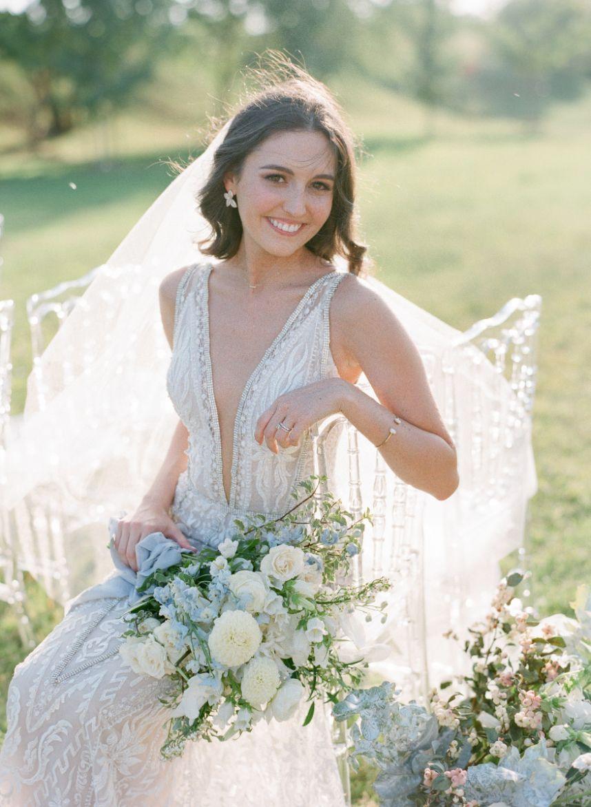 Elegant and Poised bride