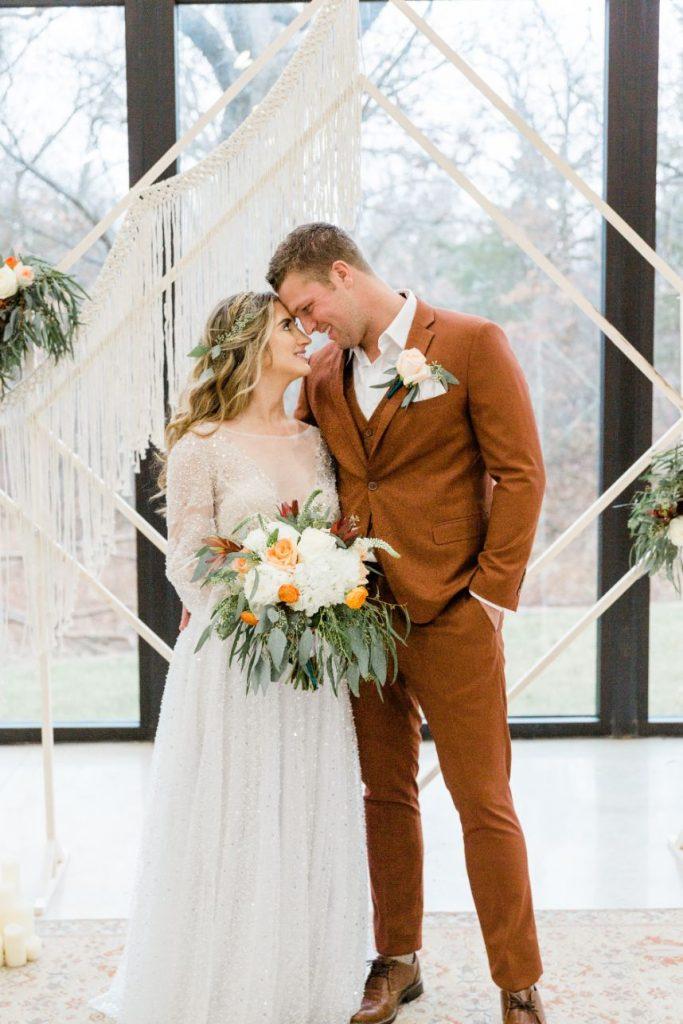 Macrame + Woodland Magic Set this Boho Wedding Inspiration Apart